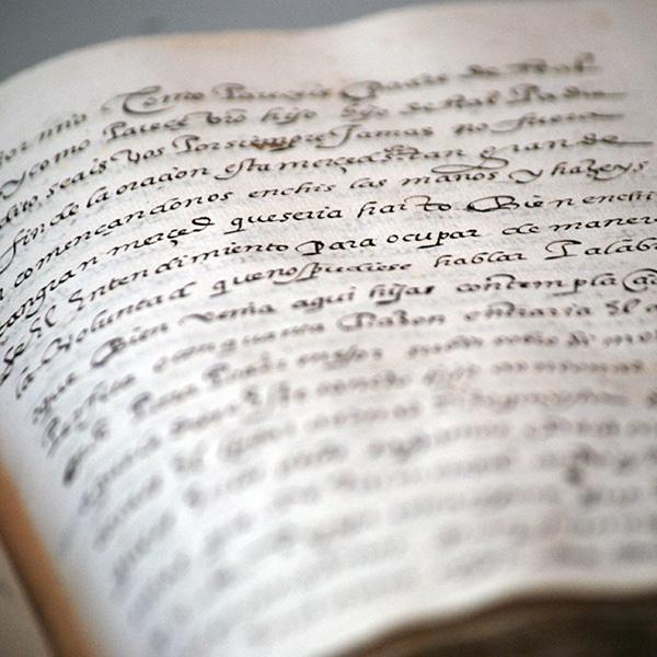 Copia manuscrita del Camino de Perfección.