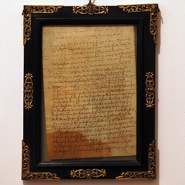 Carta de Santa Teresa