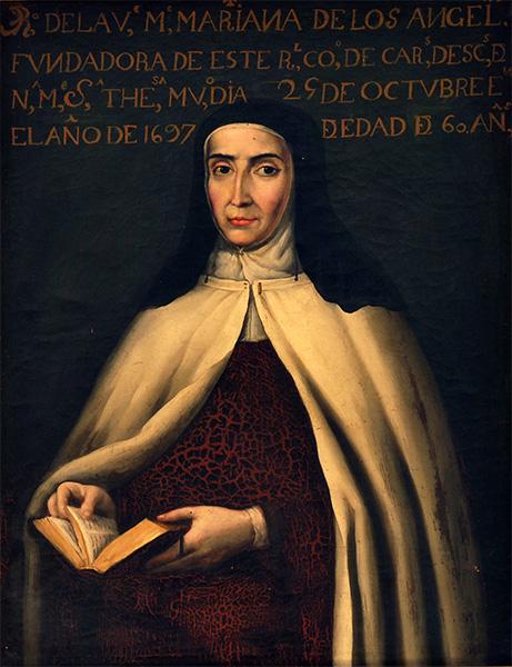 Venerable M. Mariana de los Ángeles